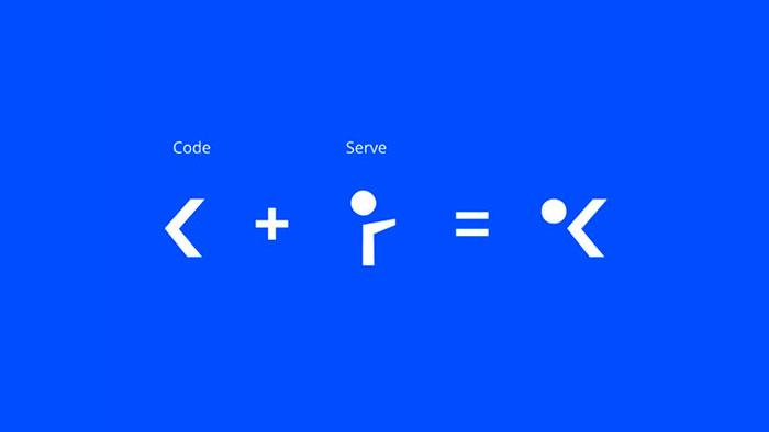 Koodi logo icoon